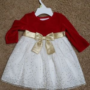 Christmas holiday special occasion dress 3 - 6 mon